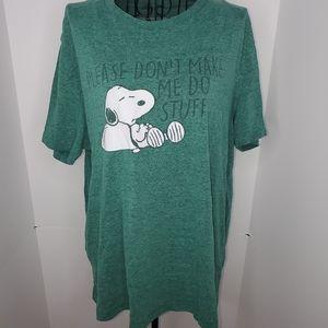Peanuts tee shirt